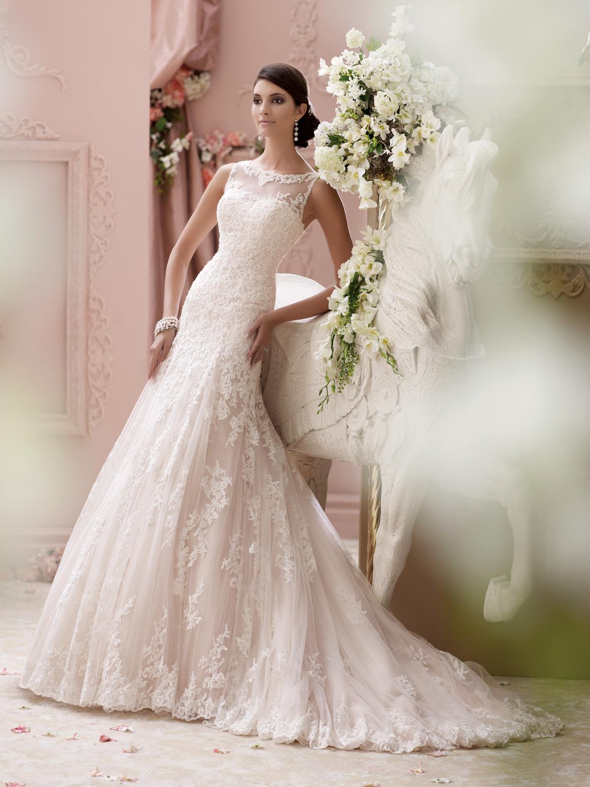 مجموعه فساتين زفاف جديدة للغاية 2015